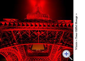 Winnie - Tour Eiffel Rouge