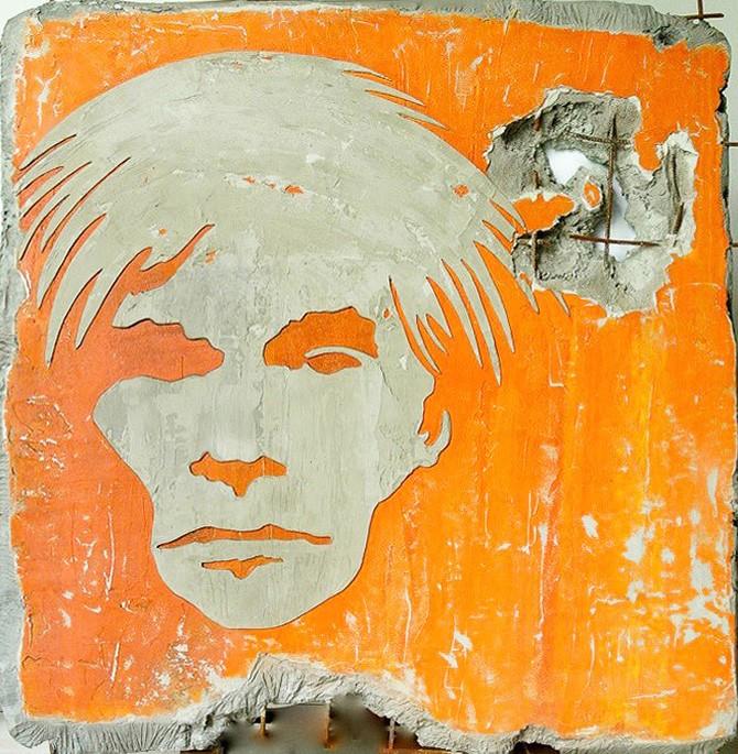Pierre Auville - Orange Andy