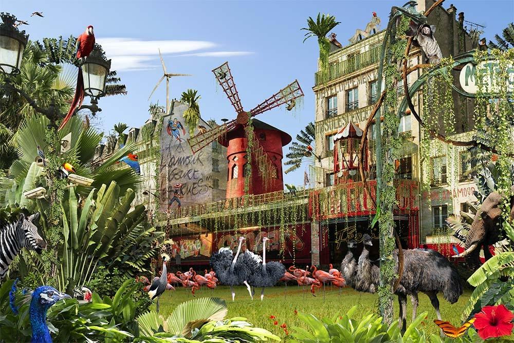 Chris Morin-Eitner - Paris, Pigalle Jungle Parade