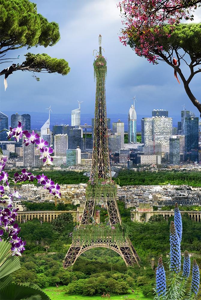 Chris Morin-Eitner - Paris, Tour Eiffel Vestiges