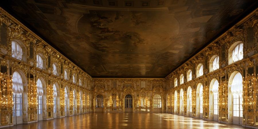 Winnie - Palais Catherine - Tsarkoie Selo Salle du Trône