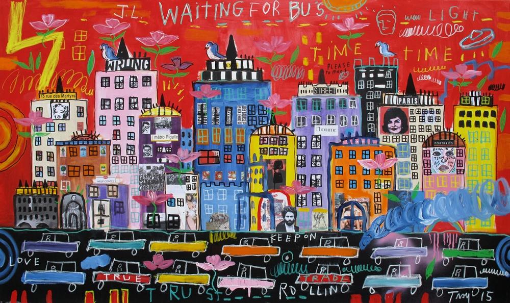 Troy Henriksen - Waiting for bus