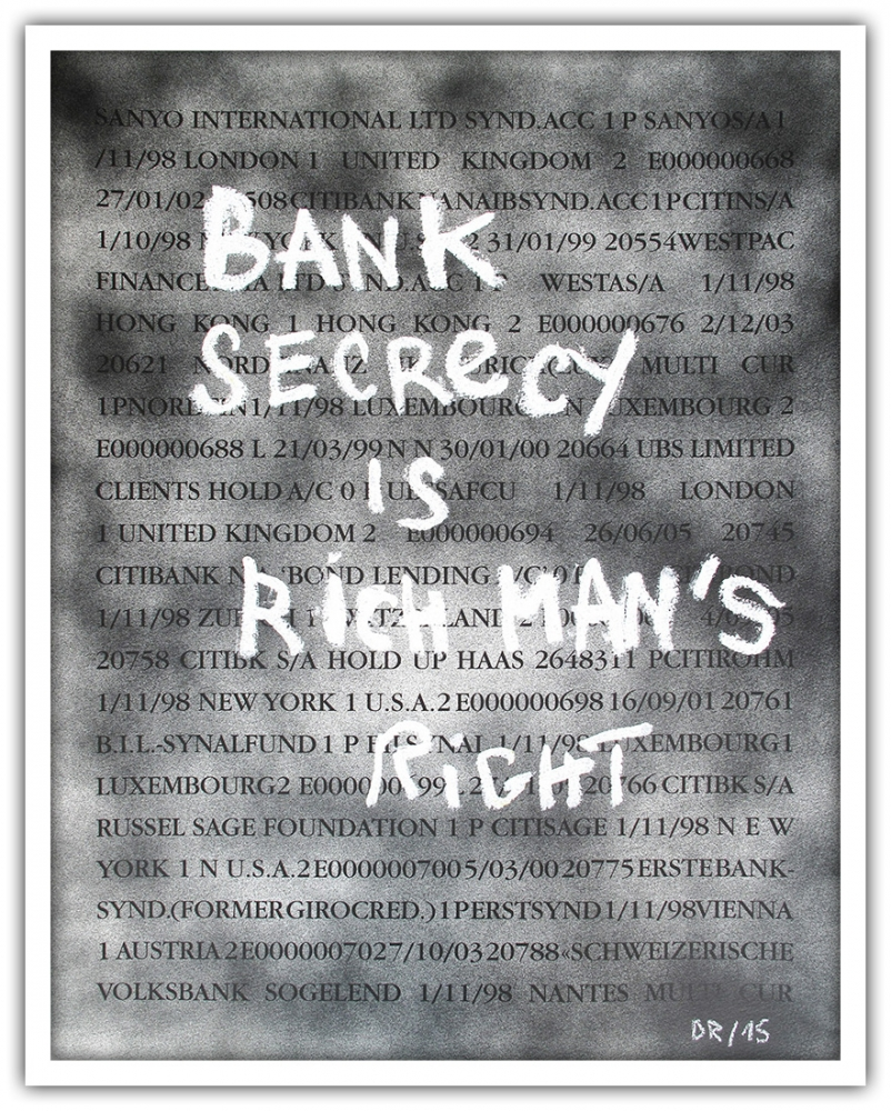 Denis Robert - Bank Secrecy