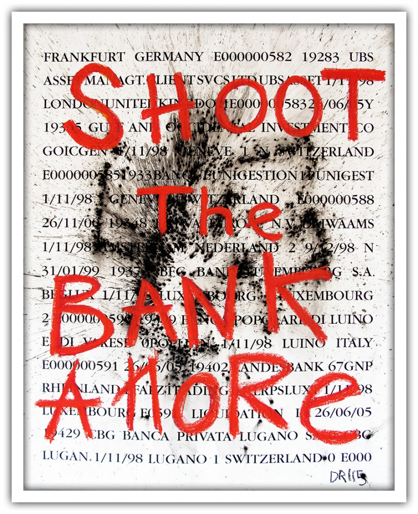 Denis Robert - Shoot The Bank Amore