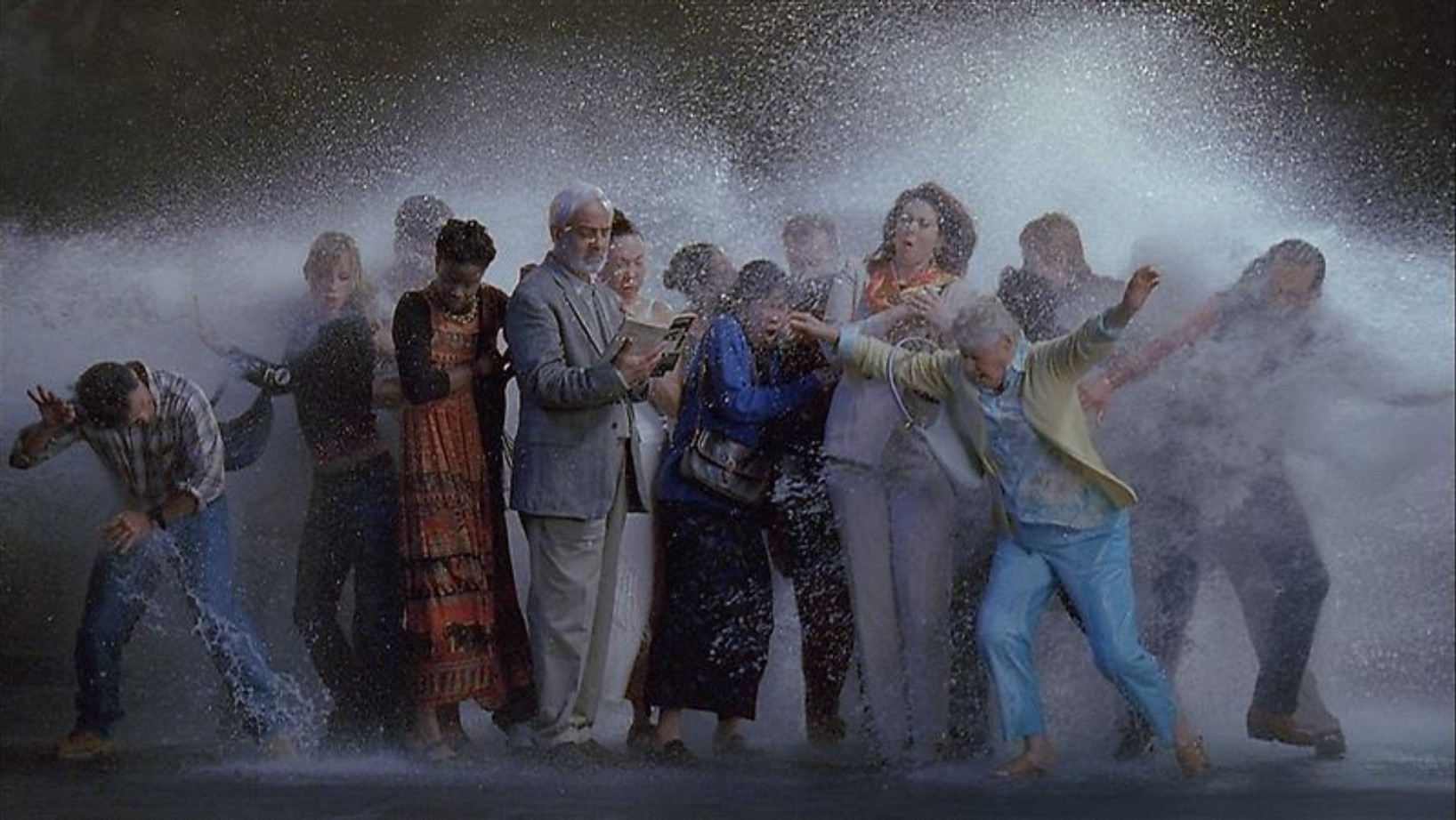 Bill Viola - Tempest - Study for the Raft