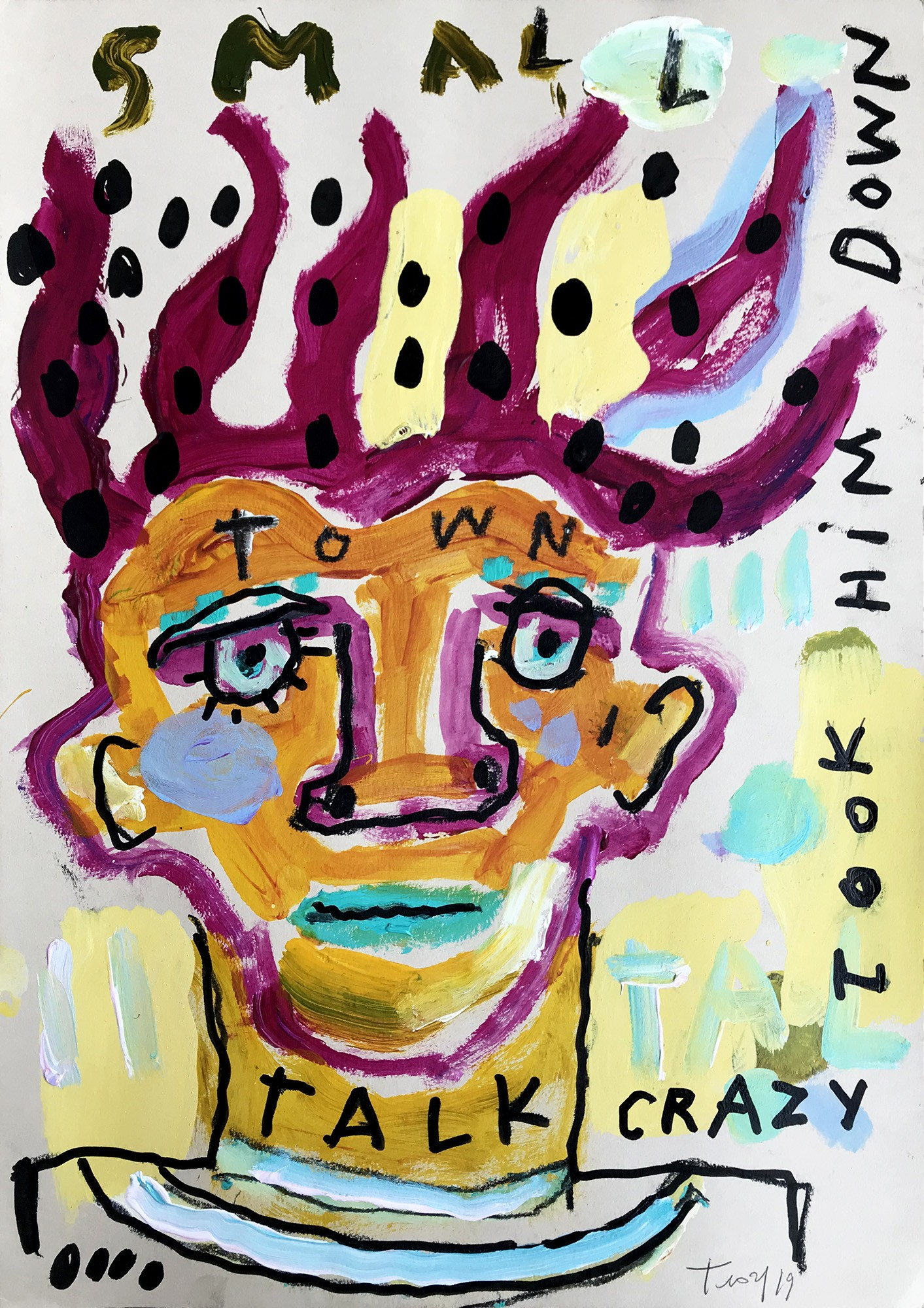 Troy Henriksen - Talk crazy