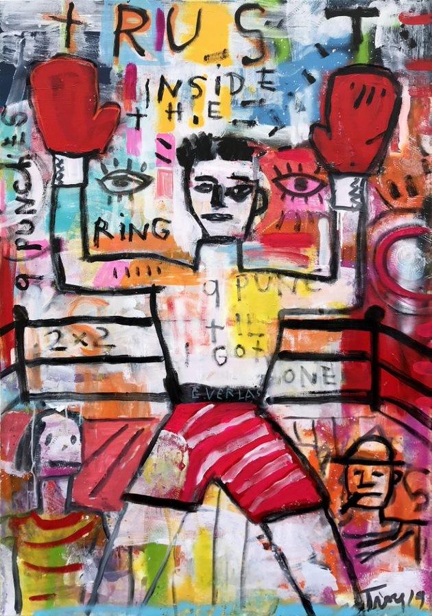 Troy Henriksen - Trust inside the ring