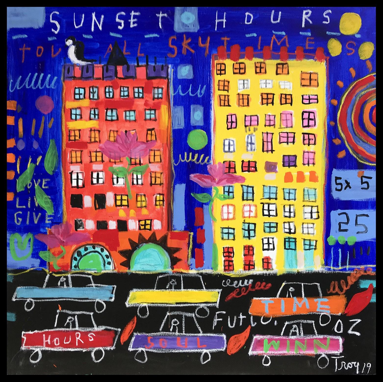 Troy Henriksen - Sunset hours