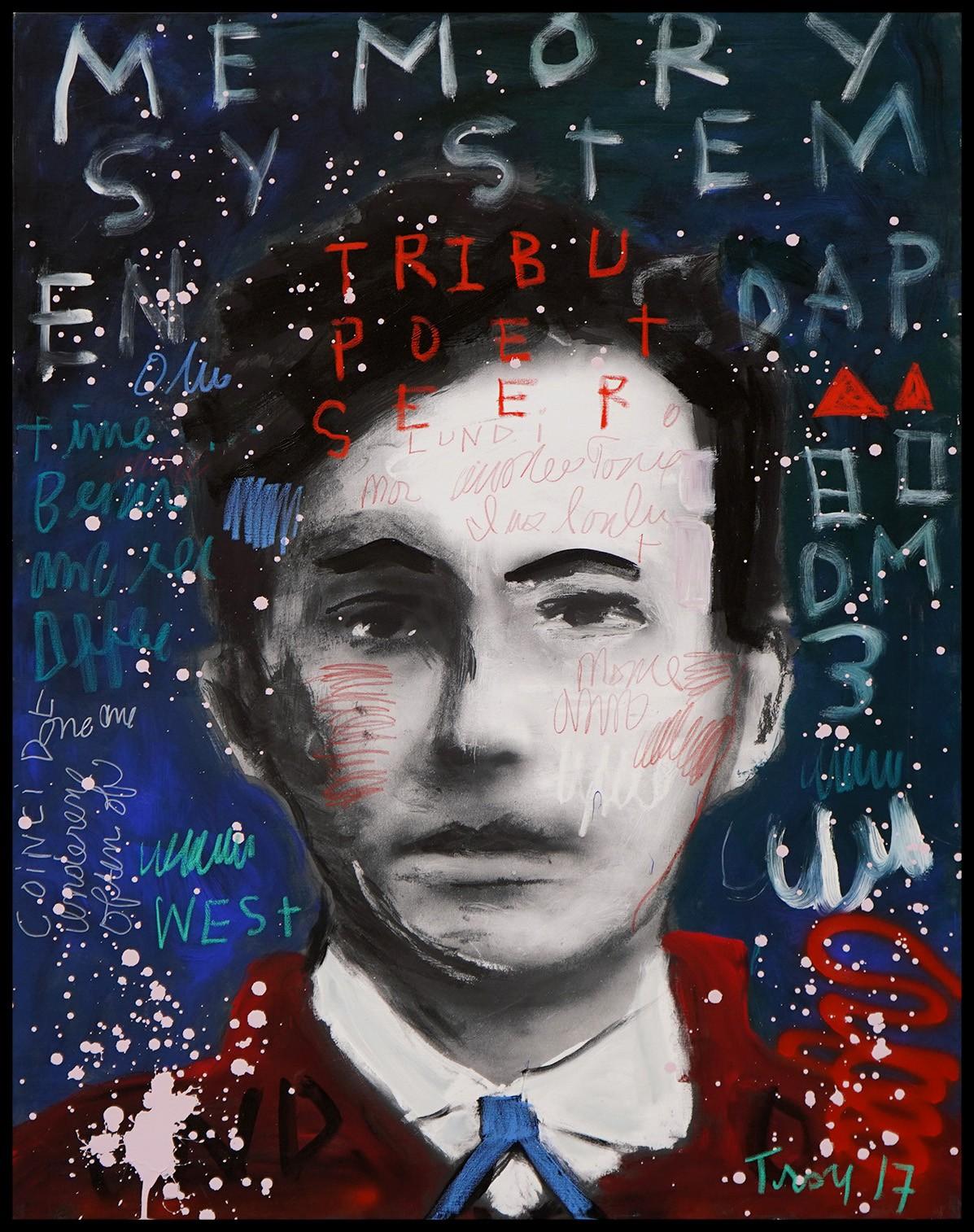 Troy Henriksen - Self Portrait Tribu Poet