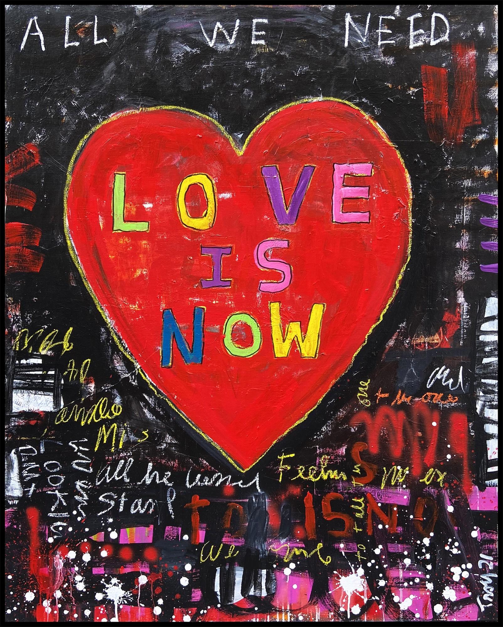 Troy Henriksen - Heart Love is now