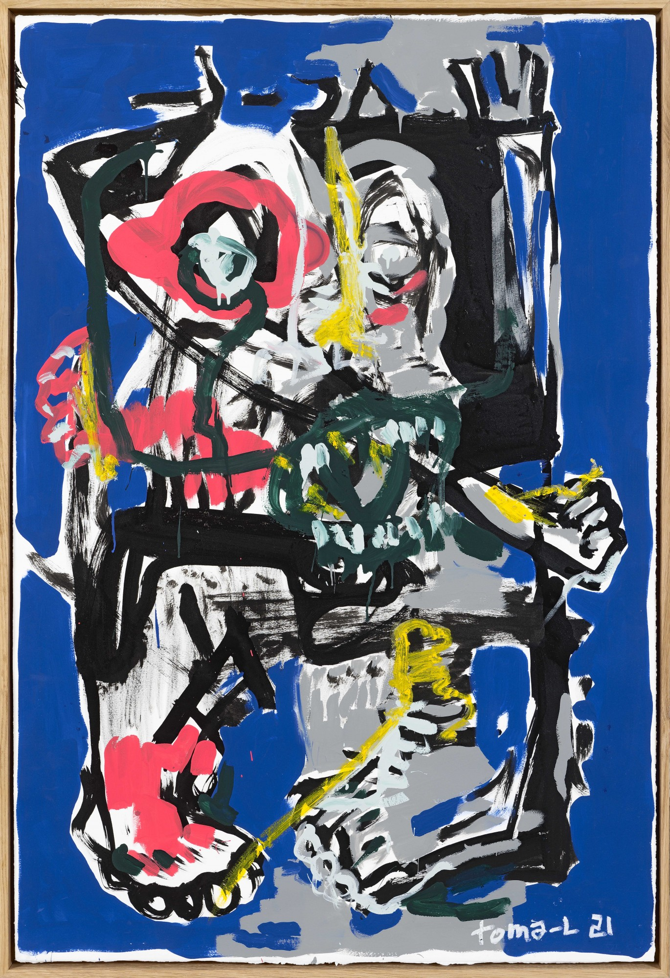 Toma L - « IT09 ODYSSE » Colors on Paper (bleu)